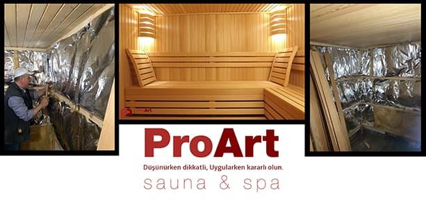 Sauna imalat Teklifi Aşamaları