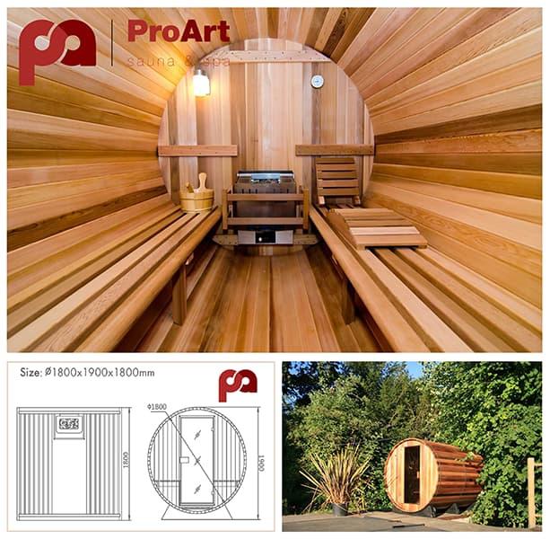 Varil sauna (Barrel Sauna Outdoor) geçmişten bugüne artan değeri